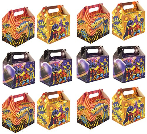 value-pack-12-x-super-hero-paper-lunch-box-going-home-present-picnic-boxes