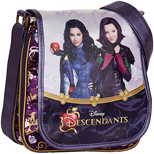 Karactermania 47107 Descendants Borsa Messenger, 22 cm, Viola