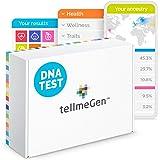 TellmeGen DNA Test Herkunft (Ancestry) + Gesundheit | +390 Online-Berichte: Der umfangreichste Gentest (ink. Ancestry und Eth