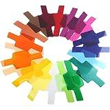 WADEO Farbfolien Blitz Farbfilter Blitz Gele Beleuchtungs Gele Transparente Farbkorrektur Beleuchtung Film Speedlite Beleuchtungs Blitz Gele Balance Beleuchtung Filter Set 20 Stück