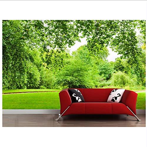 3d badezimmer tapete grünes blatt gras landschaft 3d tv wand foto wandbilder tapete dekoration -