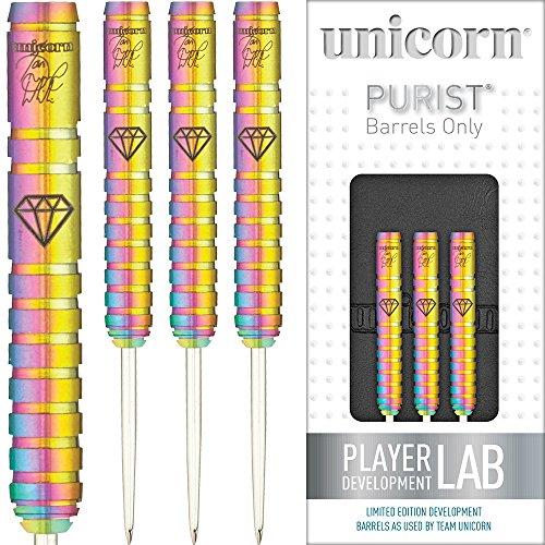 Unicorn Stahl Spitze Darts Set-Maestro-Ian weiß-PURIST-DNA-23G-mit Gratis Darts Ecke Checkout-Karte