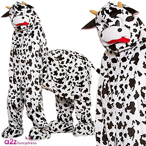 Pantomime Cow 2 person for Funny Fancy dress ()
