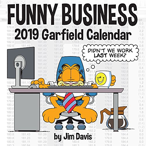Garfield Funny Business 2019 Calendar par Jim Davis