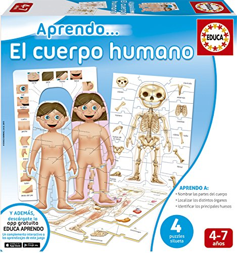 Educa Borrás - Aprendo…El cuerpo humano (16472)