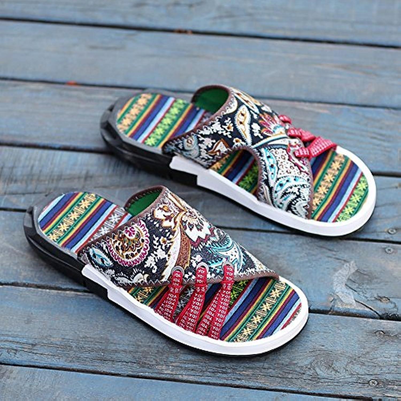 YQQ Bequeme Hausschuhe Ferienschuhe Lässige Schuhe Sandalen Mode Schuhe Männer Schuhe Junge Jugend Sommer Rutschfest