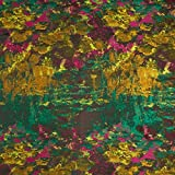 Fabulous Fabrics Shiny Jaquard Stoff Abstrakt –