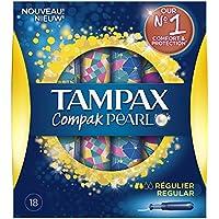 Tampax Compak Pearl tamponi regolari con applicatore X18 - Set