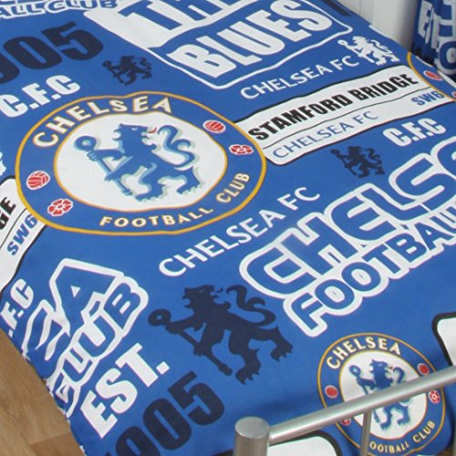 Chelsea Official Single Duvet Set – Multi-Colour