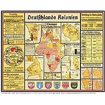 Deutsches Reich Karte.Suchergebnis Auf Amazon De Für Deutsches Reich 1871 1918 Karte 1
