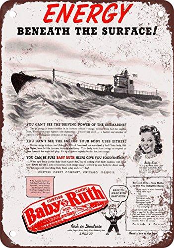1942-baby-ruth-y-submarinos-reproduccion-de-aspecto-vintage-metal-sign