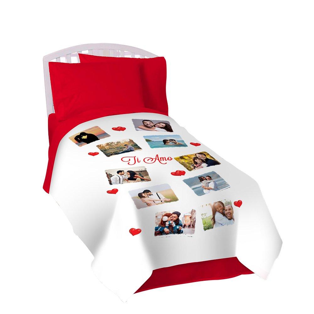Coperta Pile Personalizzata Con Foto.Scontofoto Coperta Personalizzata In Pile Plaid 130x170 Con