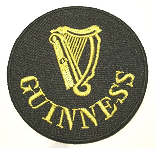 guinness-patch-3-inch-harp-logo-embroidered-iron-on-badge-applique-souvenir-by-premier-patches
