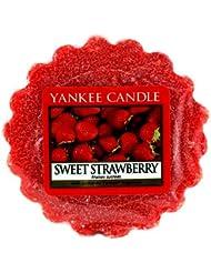 Yankee Candle Sweet Strawberry - Vela Rojo