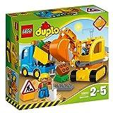 LEGO DUPLO 10812 - Bagger & Lastwagen by Lego