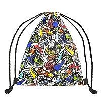 Vikings Gym Bag Gym Bags Backpack Multicolor Sneakers