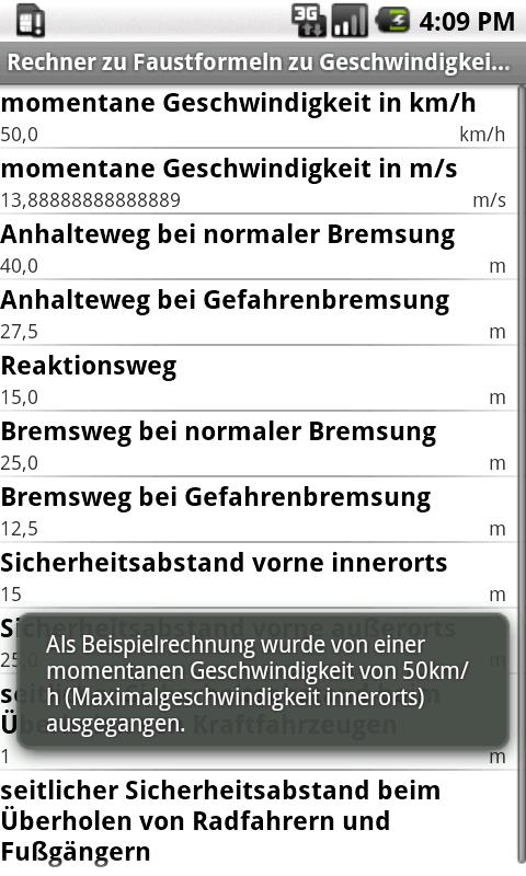 Faustformeln (Fahrschule): Amazon.de: Apps für Android