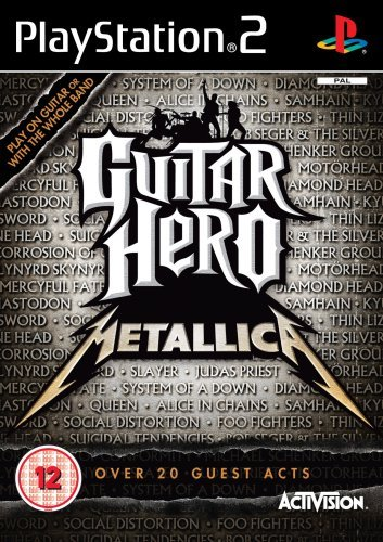 Guitar Hero: Metallica - Game Only (PS2) by ACTIVISION