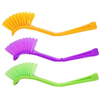 Winberg ® Wash Basin/Toilet seat/Sink Brush seat Cleaning Brush Set of 3 Brush sink03