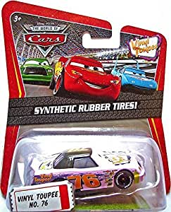 Mattel Disney Pixar The World of Cars Exclusive 1:55 Vinyl Toupee No. 76 by