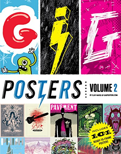 Gig Posters Volume Ii: Rock Show Art of the 21st Century por Clay Hayes