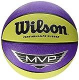 Wilson Mvp WTB9067XB Palla Basketball, Porpora/Calce, Taglia Unica