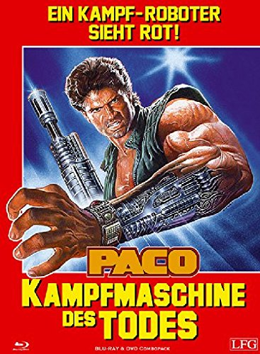 Paco - Kampfmaschine des Todes - Uncut/Mediabook  (+ DVD) [Blu-ray] [Limited Edition] -