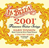 La Bella 2001 Hard Tension Flamenco Black Nylon