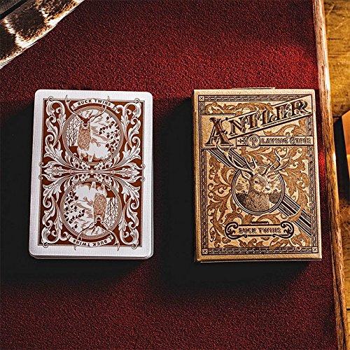 Kartenspiele Antler by Dan & Dave - Tobacco brown