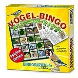 DiPrint Vogel-Bingo Spiel! 63 heimisch Vogelarten Spielend kennenlernen für Kinder