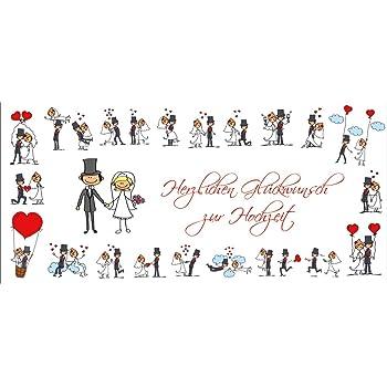 Lustige Hochzeitskarte 10653 Mit Umschlag Witzige