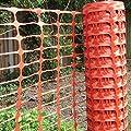 True Products b1003C Standard-Schutznetz aus Kunststoff, Rolle, Orange, 4kg 1m x 50m von True Products auf Du und dein Garten