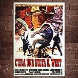Poster Cinema C'era Una Volta Il West - Formato: 70x100 CM - Sergio Leone