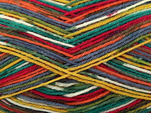 king-cole-zig-zag-sock-knitting-yarn-4-ply-1864-wacky-per-100-gram-ball
