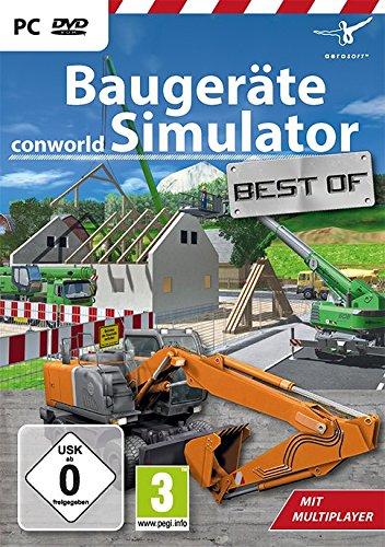 Preisvergleich Produktbild Best of Baugeräte Simulator - Conworld