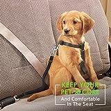 Topop einstellbare Haustier Hund Katze Fahrzeug Auto Sicherheitsgurt Harness Seat belt Anschnallgurt aus Nylon Stoff - 6