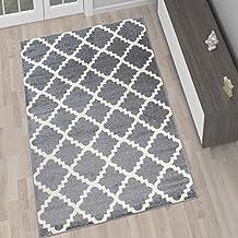 Teppich grau kurzflor  Suchergebnis auf Amazon.de für: teppich 200x200 kurzflor