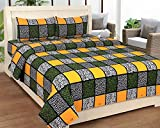 Bed & Bath Cotton Queen bedsheet with 2 ...