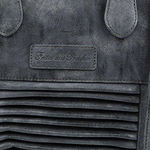 Fritzi Da Preußen Leyla Vintage Shopper Bag 42 Cm Blu Scuro