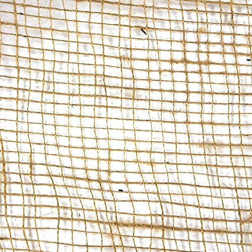 Ballentuch, Jute, Wurzelschutz, Dekoration, 1x1m, 10 Stück