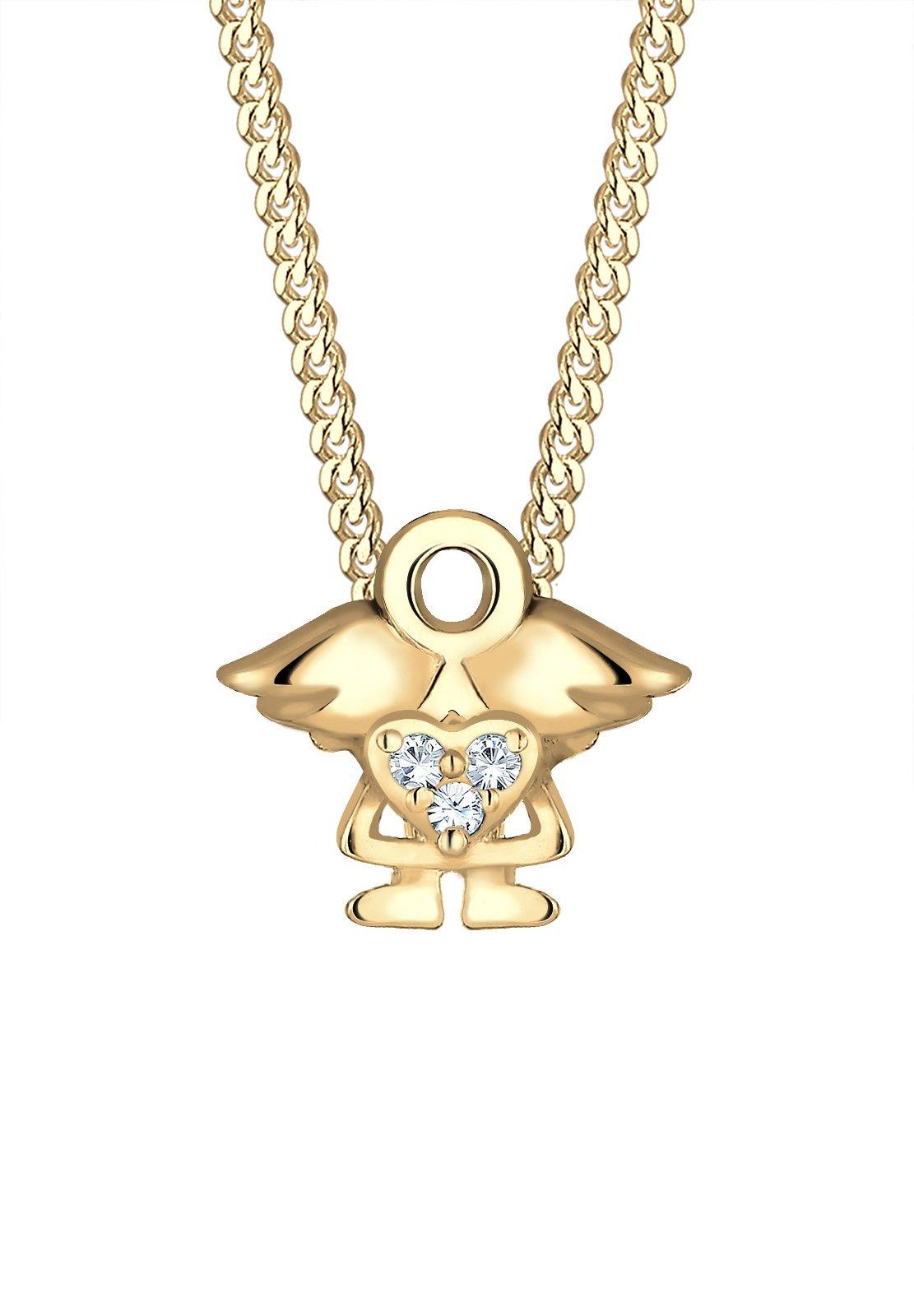 Elli Girls Silver Pendant Necklace