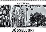 Ein Blick auf Düsseldorf (Wandkalender 2019 DIN A2 quer): Ein ungewohnter Blick auf Düsseldorf in harten Schwarz-Weiß-Bildern. (Monatskalender, 14 Seiten ) (CALVENDO Orte) - Markus W. Lambrecht