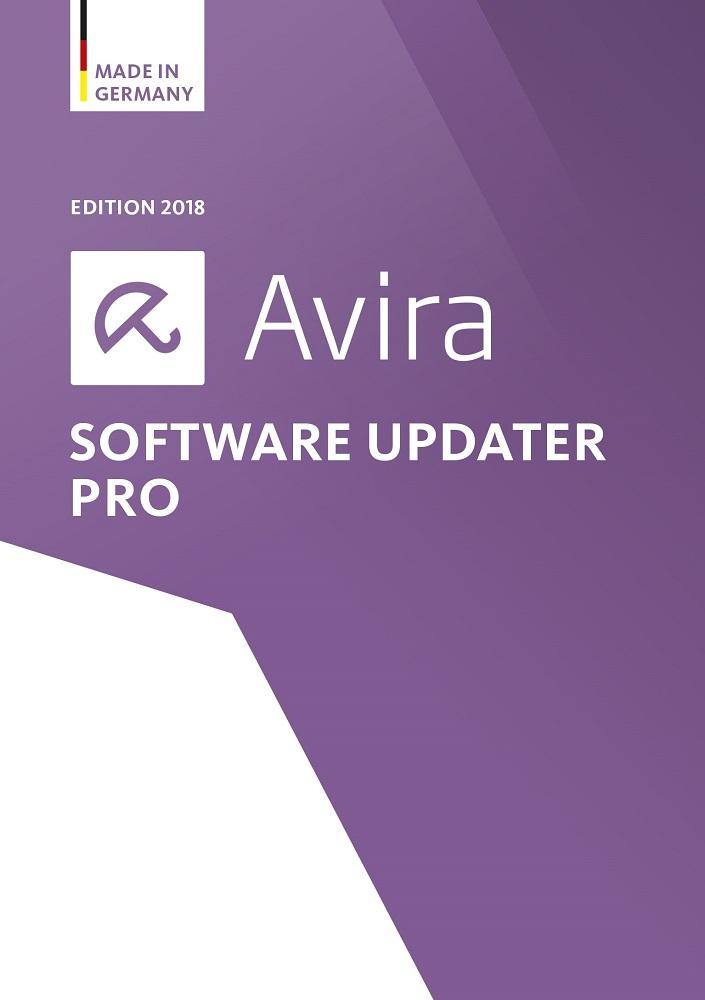 Avira Software Updater Pro Edition 2018 / Software Update Manager (Jahreslizenz) für 1 Windows PC / Download für Windows-Betriebssysteme (7, 8, 8.1, 10) [Online Code]