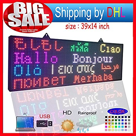 'Open Close LED Sign 39