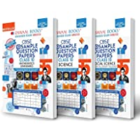 Oswaal CBSE Sample Question Paper Class 10 (Set of 3 Books) Science, Social Science & Mathematics Standard (For Term I…