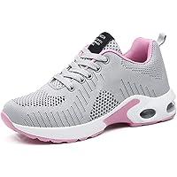 GAXmi Donna Cuscino d'Aria Scarpe da Ginnastica Corsa Sportive Respirabile Mesh Running Fitness Sneakers Basse Basket…