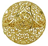 Banithani Indian Ethnic Vergoldet Adjustable Ring Traditionelle Bollywood Partei Schmuck