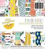 American Crafts American Crafts Bloc de papel 15,2x 15,2cm) 36/pkg-amy Marrón Finders Keepers, otros, multicolor