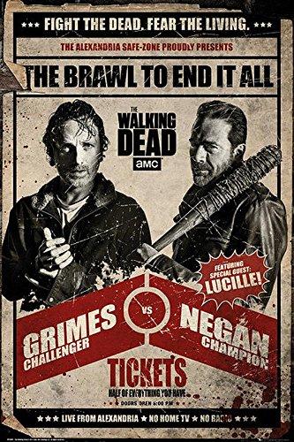 Póster The Walking Dead - Grimes vs Negan 61cm x