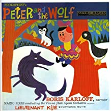 Prokofiev: Peter and the Wolf Op. 67, Lieutenant Kije Suite, Op. 60